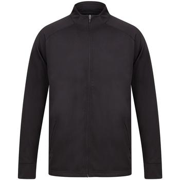 Textiel Heren Trainings jassen Finden & Hales LV871 Zwart/Zwart