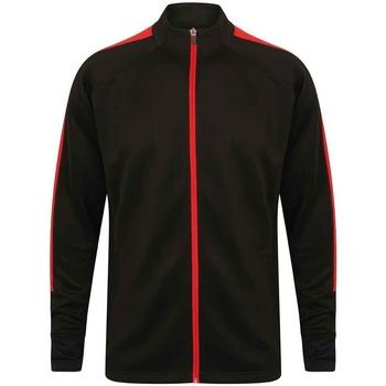 Textiel Heren Trainings jassen Finden & Hales LV871 Zwart/Rood
