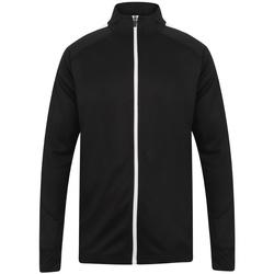 Textiel Heren Trainings jassen Finden & Hales LV871 Zwart/Wit