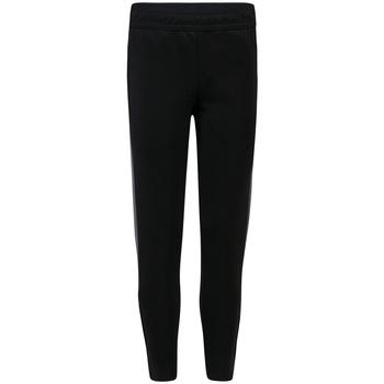 Textiel Jongens Trainingsbroeken Finden & Hales LV883 Zwart/Gunmetaal