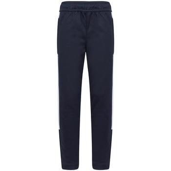 Textiel Jongens Trainingsbroeken Finden & Hales LV883 Marine / Wit