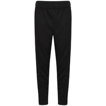 Textiel Jongens Trainingsbroeken Finden & Hales  Zwart/Wit