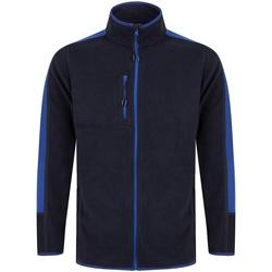 Textiel Fleece Finden & Hales LV580 Marine/Loyaal Blauw