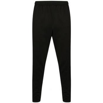 Textiel Heren Trainingsbroeken Finden & Hales  Zwart/Gunmetaalgrijs