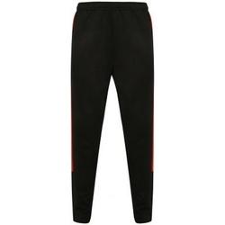 Textiel Heren Trainingsbroeken Finden & Hales  Zwart/Rood