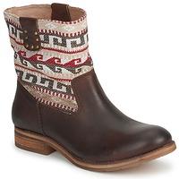 Schoenen Dames Laarzen Koah DALIA Brown