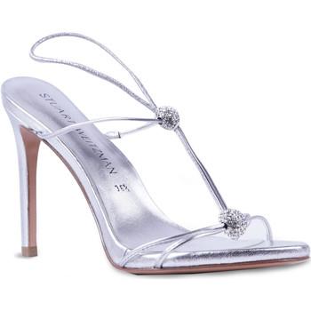 Schoenen Dames Sandalen / Open schoenen Stuart Weitzman VL09249 argento