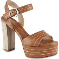 Schoenen Dames Sandalen / Open schoenen Barbara Bui N5341 MMN18 marrone