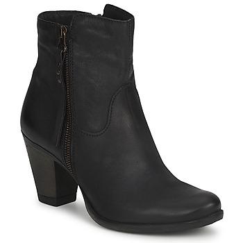 Schoenen Dames Enkellaarzen Dream in Green HAYDAR Zwart
