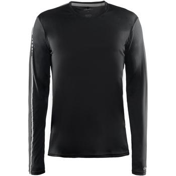 Textiel Heren T-shirts met lange mouwen Craft CT089 Zwart