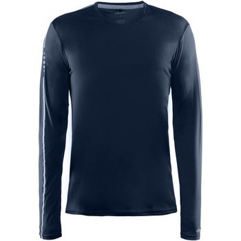 Textiel Heren T-shirts met lange mouwen Craft CT089 Marine
