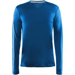 Textiel Heren T-shirts met lange mouwen Craft CT089 Zweeds Blauw
