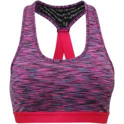 Textiel Dames Sport BHs Tridri TR920 Ruimte Roze