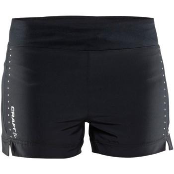 Textiel Dames Korte broeken / Bermuda's Craft CT56F Zwart