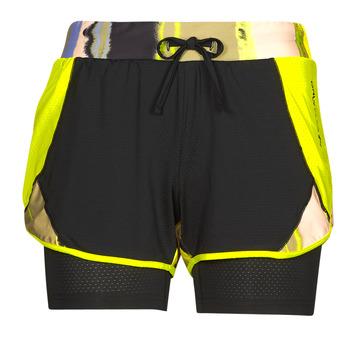 Textiel Dames Korte broeken / Bermuda's Only Play ONPARI Geel / Zwart