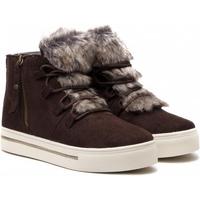 Schoenen Dames Hoge sneakers Xti 48551 MARRON Marrón oscuro
