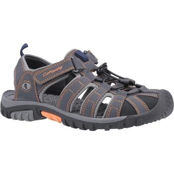 Schoenen Heren Sandalen / Open schoenen Cotswold  Grijs/Oranje