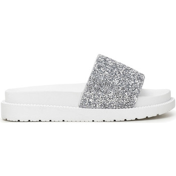 Schoenen Dames Leren slippers Café Noir FE9010 Wit
