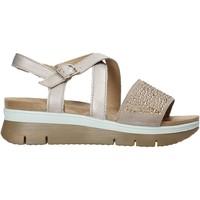 Schoenen Dames Sandalen / Open schoenen Enval 7283622 Bruin