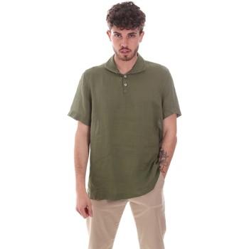 Textiel Heren Overhemden korte mouwen Sseinse CE660SS Groen