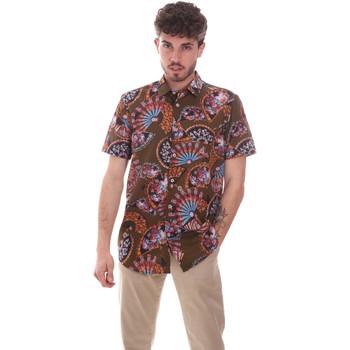 Textiel Heren Overhemden korte mouwen Sseinse CE665SS Groen