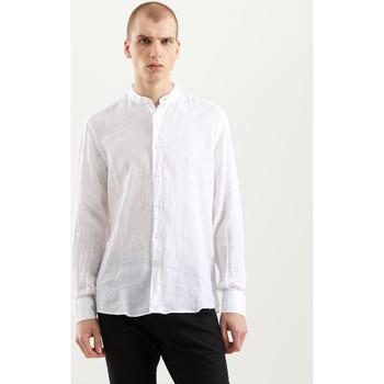 Textiel Heren Overhemden lange mouwen Refrigiwear RM0C10100LI9110 Wit