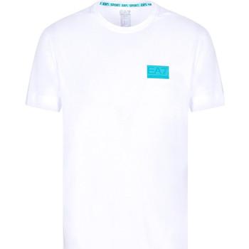 Textiel Heren T-shirts korte mouwen Ea7 Emporio Armani 3KPT50 PJAMZ Wit