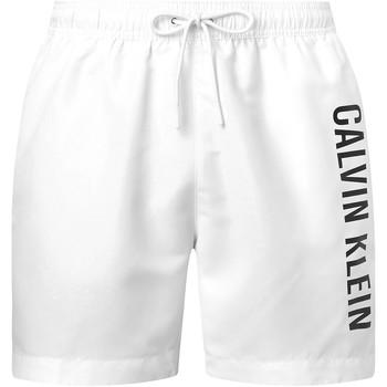 Textiel Heren Korte broeken / Bermuda's Calvin Klein Jeans KM0KM00570 Wit