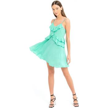 Textiel Dames Korte jurken Fracomina FS21SD1008W42201 Groen