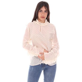 Textiel Dames Tops / Blousjes Dixie C212P023 Wit