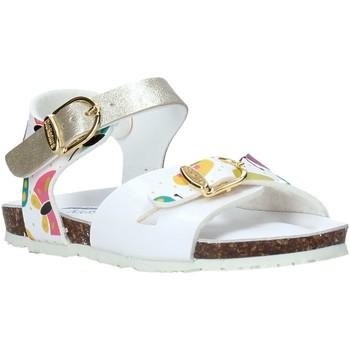 Schoenen Meisjes Sandalen / Open schoenen Bionatura CHIARA Wit