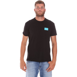 Textiel Heren T-shirts korte mouwen Ea7 Emporio Armani 3KPT50 PJAMZ Zwart