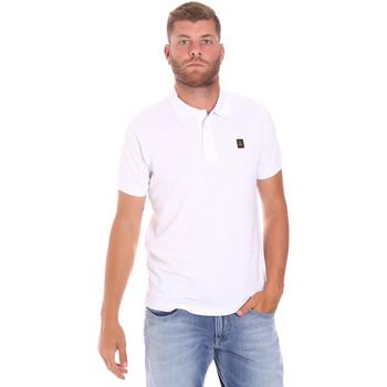 Textiel Heren Polo's korte mouwen Refrigiwear RM0T25900PQ9002 Wit