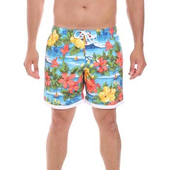 Textiel Heren Zwembroeken/ Zwemshorts Sundek M693BDP01HA Blauw