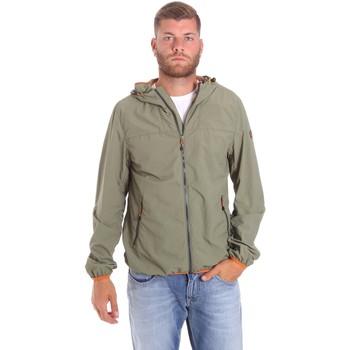 Textiel Heren Wind jackets Lumberjack CMB3223 001EU Groen