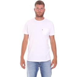 Textiel Heren T-shirts korte mouwen Lumberjack CM60343 022EU Wit