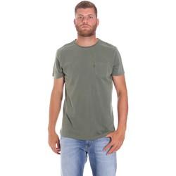 Textiel Heren T-shirts korte mouwen Lumberjack CM60343 022EU Groen