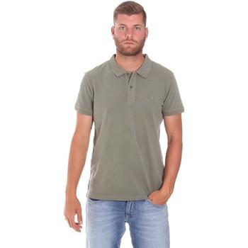 Textiel Heren Polo's korte mouwen Lumberjack CM45940 017EU Groen