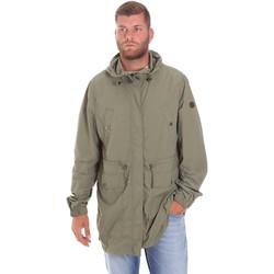 Textiel Heren Parka jassen Lumberjack CWB3321 001EU Groen