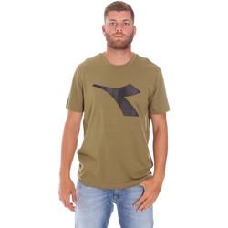 Textiel Heren T-shirts korte mouwen Diadora 102175852 Groen