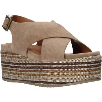Schoenen Dames Sandalen / Open schoenen Onyx S20-SOX753 Bruin