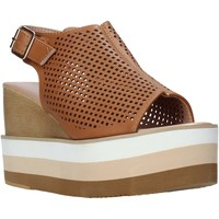 Schoenen Dames Sandalen / Open schoenen Onyx S20-SOX757 Bruin