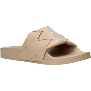 Schoenen Dames Slippers Gold&gold A21 FL150 Beige