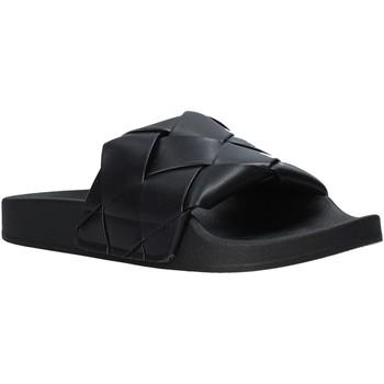 Schoenen Dames Slippers Gold&gold A21 FL150 Zwart