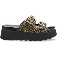 Schoenen Dames Leren slippers Cult CLW314602 Zwart