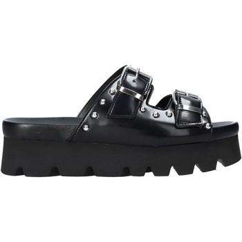 Schoenen Dames Leren slippers Cult CLE103675 Zwart