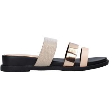 Schoenen Dames Leren slippers Onyx S20-SOX713 Roze