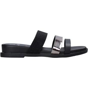 Schoenen Dames Leren slippers Onyx S20-SOX713 Zwart
