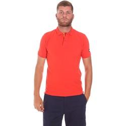 Textiel Heren Polo's korte mouwen Sundek M791PLJ6500 Rood