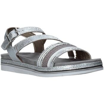 Schoenen Dames Sandalen / Open schoenen Marco Tozzi 2-2-28627-26 Zilver